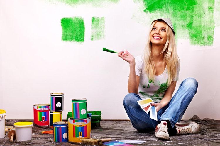 con que colores pintar